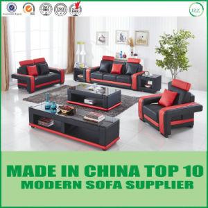 Modernes italienisches ledernes Divani Casa-Wohnzimmer-Sofa-Set