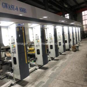 Drei Farben-Gravüre-Drucken-Maschine 160m/Min des Motor8