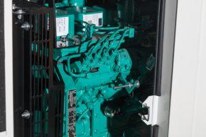 leises Dieselset des generator-75kw angeschalten durch Cummins Engine