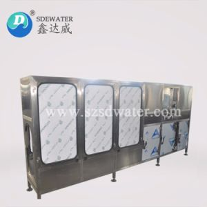 Produção elevada de 3 a 5 galões Barreled máquina de enchimento de água pura