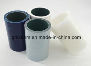 En Blanco y Negro PE Película protectora para la salida de fábrica de hoja de acero inoxidable con pegamento de goma