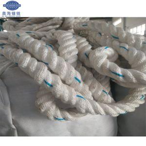 Hochfeste 3 Strang-verdrehte Nylonboots-Zeile, Seil verankernd