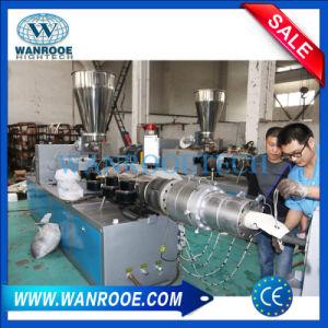 De PVC de doble tornillo de extrusión de peletización Granulator UPVC la máquina extrusora de plástico para tubo/profile/Línea de producción de gránulo