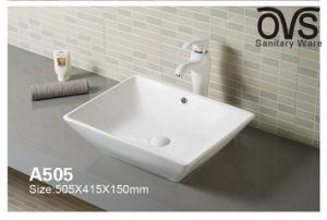 Modernes Badezimmer-Schrank-Bassin-Hahn-Wäsche-Bassin