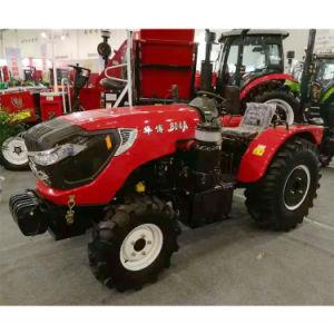芝刈り機が付いている素晴らしくコンパクトな四輪トラクター50-80HP 4WDの芝生のトラクター