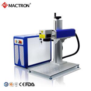 金属のための低価格20W 30W 50Wの携帯用小型ファイバーレーザーのマーキング機械