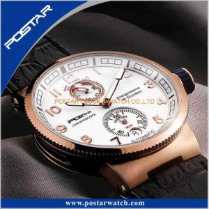 水泳の機械スポーツの腕時計の自動クロノグラフの腕時計