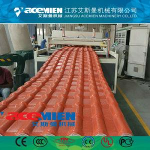 Plastikdach-Fliese Belüftung-ASA, welche die Maschine bildet maschinelle Herstellung-Zeile herstellt