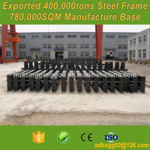 Facilidad las secciones de acero estructural de fabricación