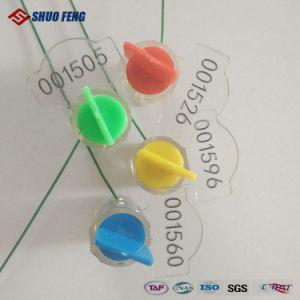 Code à barres de torsion en plastique sceau du compteur