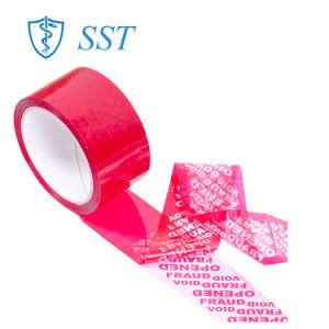 タンパーの明白な機密保護のボックスのための反偽造のシールの機密保護テープ