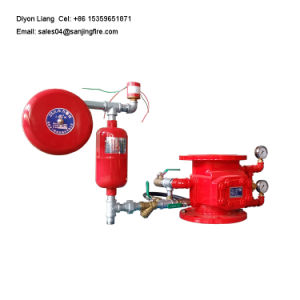 Automação de qualidade superior da válvula de Alarme de Umidade do Sistema de Incêndio