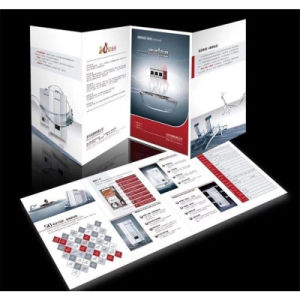 Drucken-Qualitäts-Masse-Menü-Broschüre-Broschüren-Flugblätter