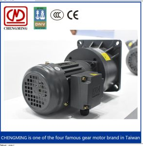 3.7kw 알루미늄 또는 강철 플레이트 3 단계 나선형 기어 모터