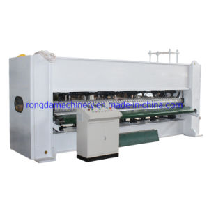 Máquina de lança de perfuração da agulha do tecido Non-Woven linha de produção