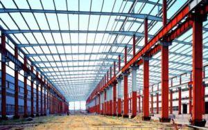 Inspección de alta calidad china BV almacén de estructura de acero prefabricados