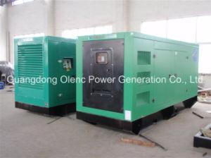 Stille Diesel van het Type Geluiddichte Generator 750kVA met AC Stamford Alternator