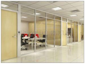 Intérieur moderne en verre clair de profilé en aluminium bureau