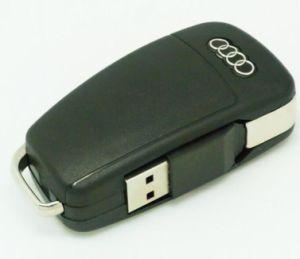 Творческие USB-Audi Car ключ USB-накопитель 1 ГБ 2 ГБ 4 ГБ 8 ГБ 16ГБ 32ГБ