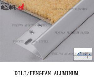 Декорации Carpetstrip алюминия до края коврика