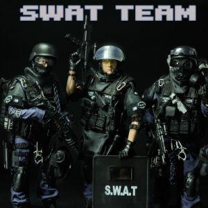 Os soldados das forças especiais SWAT brinquedos brinquedos militar soldado das figuras de acção brinquedos de plástico