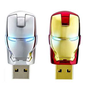 2.0メモリ棒USBのフラッシュ駆動機構の報復者の鉄の人