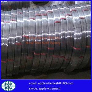Fio de galvanizar oval (fio de alto carbono e fio de baixo teor de carbono)