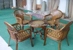 La protezione di legno della mobilia sparisce la vernice di vimini di legno della vernice