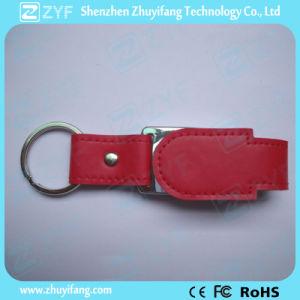 2017 новый дизайн кожаные цепочки ключей флэш-накопитель USB (ZYF1424)