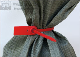 OS7011, les sceaux de sécurité Tirez serrés les joints en plastique