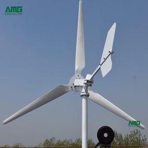 5kwホームのための水平の小さい風力