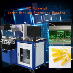 Vente 2015 chaude ! Acrylique de non-métal de CO2, bois, bouton, etc., machine de gravure d'inscription de laser Hsco2-60W
