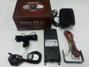 La versión de instalación del kit manos libres para coche con tecnología Bluetooth