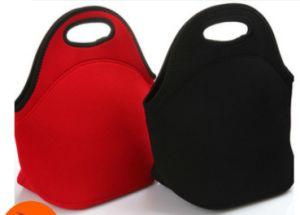 Refroidisseur d'isolation thermique en néoprène déjeuner sac à main sac fourre-tout (LUB140507W1)