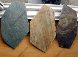 자연적인 Grey Black, Green, Wall Cladding & Flooring를 위한 Rusty Slate