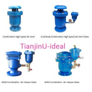 Combinação de corpo duplo de válvula de respiro de ar de alta velocidade/Válvula de Ar