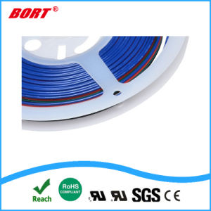 PVCによって絶縁されるULは銅のコアフラットケーブル4 Pinをワイヤーで縛る