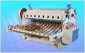 Rollo de papel automático Hoja cortadora con Stacker