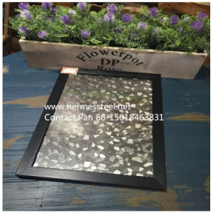 SUS 201 316 304 en relief la plaque de tôle en acier inoxydable décoratif