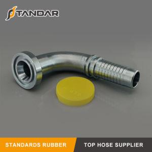 Montaggio di tubo flessibile idraulico del gomito del cono dell'acciaio inossidabile 74 di Jic