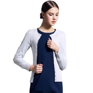 Cardigan delle donne di inverno, signora Sweater Acrylic Knitwear