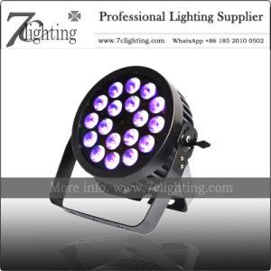 5en1 RGBWA PAR LED la iluminación exterior 18*15W