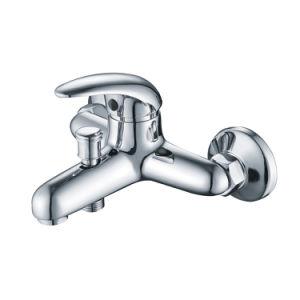 Rubinetto dell'acquazzone del rubinetto d'ottone dei rubinetti della manopola del rubinetto di vasca da bagno singolo (KTM-01)