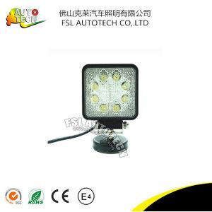 La Plaza de alta potencia 24W LED de autopartes de la luz de trabajo de la conducción del vehículo