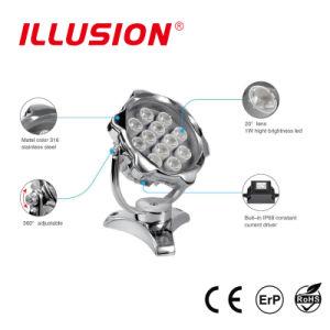 Indicatore luminoso subacqueo di RGB IP68 LED per l'indicatore luminoso del raggruppamento con CE
