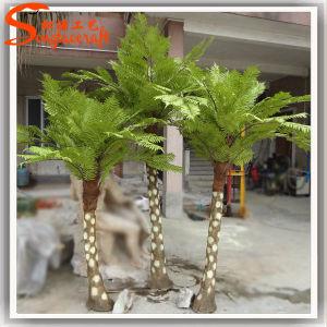 Mini-Shape Samambaia Artificial Palmeira Árvore Cycads Plástico