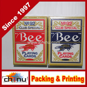 Schede di gioco su ordinazione dell'ape della stampa (430062)