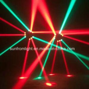 3heads LEDのくもライトを移動しているナイトクラブLED