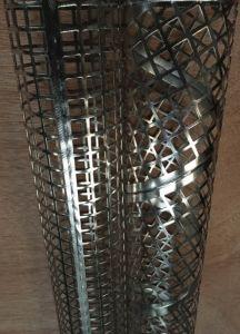 Zhi Yi Da soudé en spirale 316L Les éléments de filtre en métal perforé en acier inoxydable 316 tuyaux Air Center Core cadres de filtre