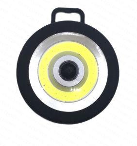 ハンドルが付いている電池式の磁石の穂軸LEDのインスペクションランプ